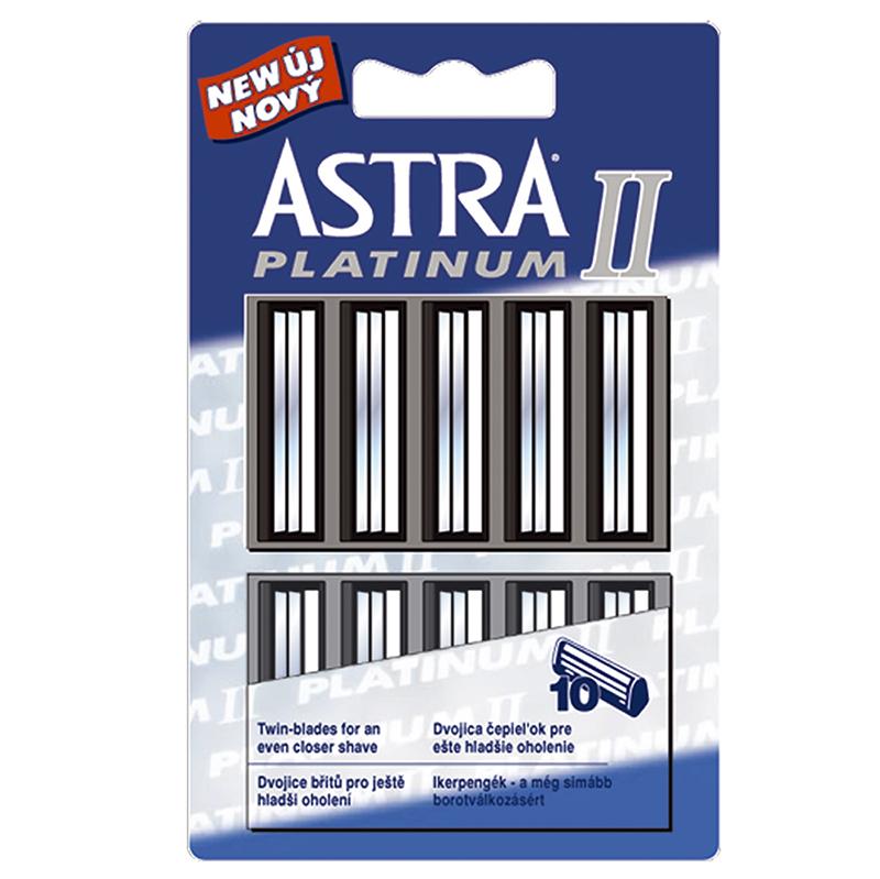 Astra Platinum II náhradné hlavice 10ks 98b404c42dc