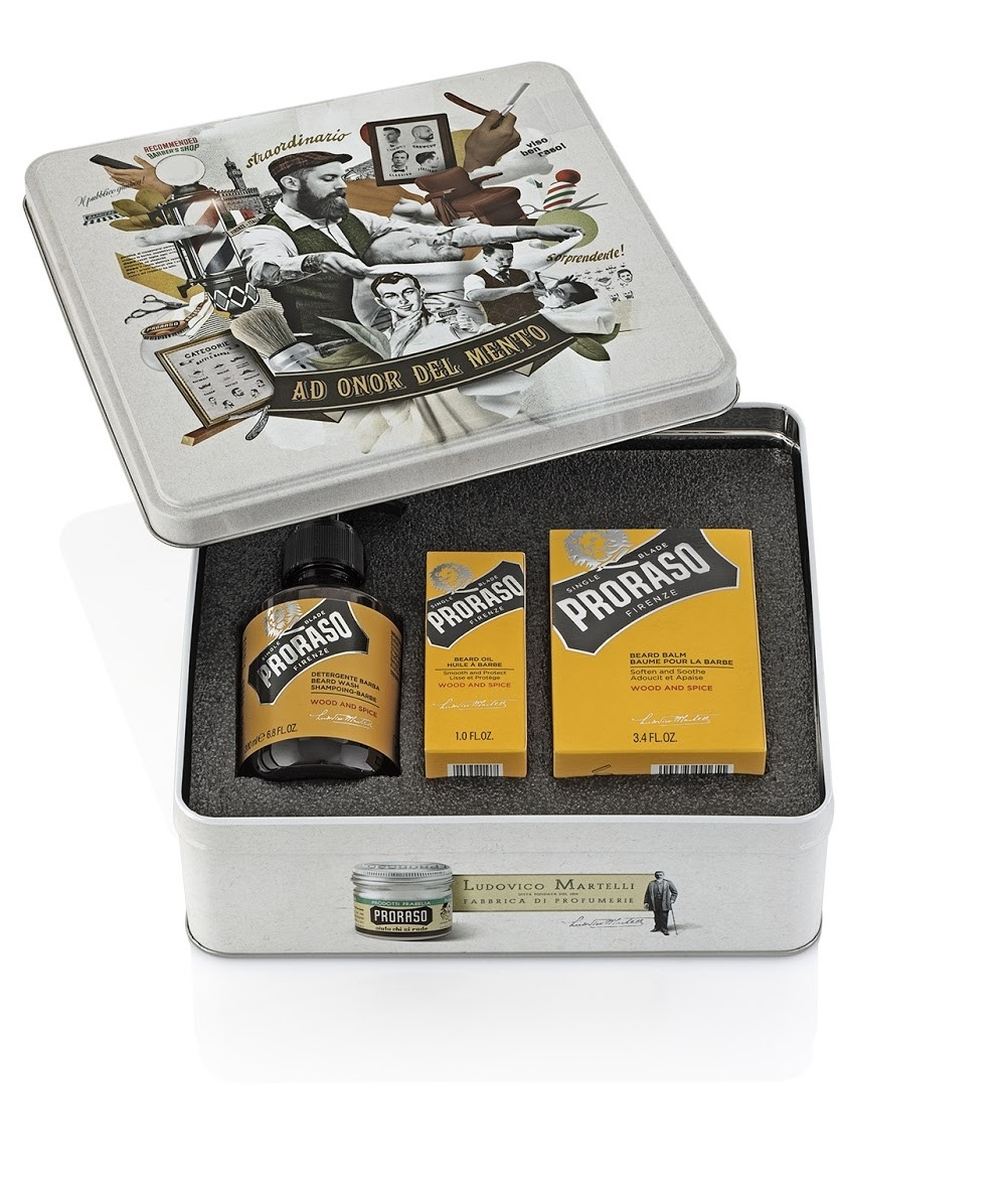 Proraso Vintage set na bradu wood and spice