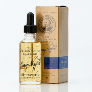 Captain Fawcett's Million Dollar olej na fúzy a bradu 10ml