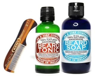 Dr K Soaps Delux Beard care kit